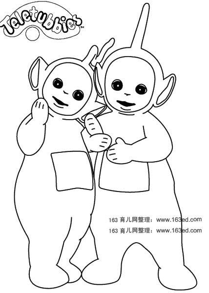天线宝宝简笔画3