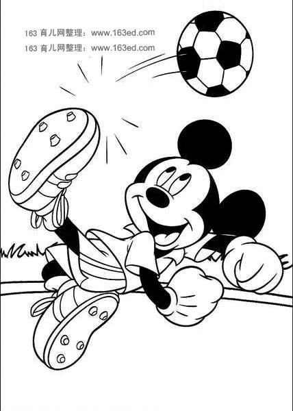 米老鼠简笔画3-简笔画网