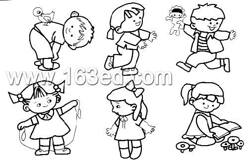 卡通人物头像简笔画 卡通人物头像简笔画画法