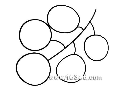 西瓜的简笔画(水果类)   幼儿园教案_幼儿简笔画:香蕉10   高清图片