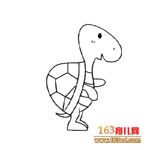 简笔画:可爱的乌龟