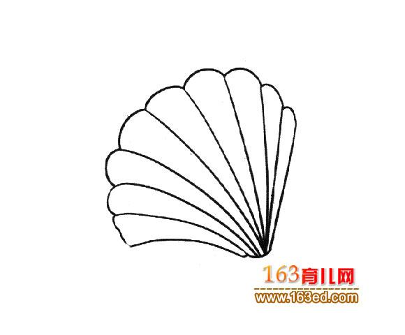 如图(2):张开的贝壳简笔画图片有颜色答:贝壳(软体动物外套膜)编辑