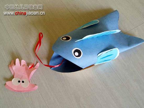[图文]幼儿手工:绒棒制作蚂蚁 幼儿手工废旧利用:松果小娃娃—儿童图片