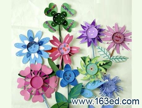 幼儿纸杯手工制作:各种花9