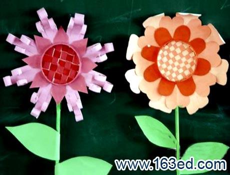 幼儿纸杯手工制作:各种花7