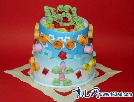 幼儿纸杯手工制作:可口的蛋糕-儿童手工制作网; 幼儿纸杯手工制作