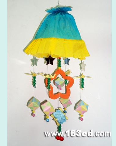 幼儿手工制作:漂亮的风铃
