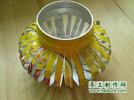 易拉罐灯笼的手工制作教程