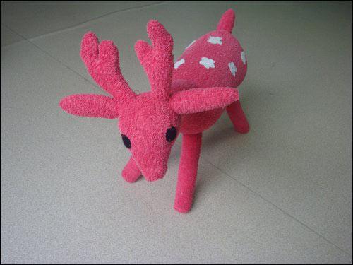 布艺手工:毛巾百变玩具—儿童手工制作网